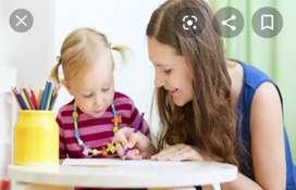 Servicio de niñera responsable