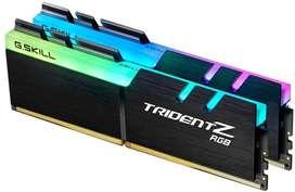 MEMORIA RAM GSKILL TRIDENT Z RGB 16GB DDR4 3600!