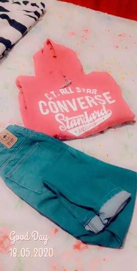 Jeans buzo disponible 40