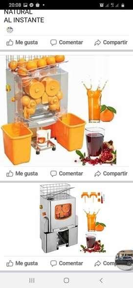 Exprimidor de naranjas eléctrico automático
