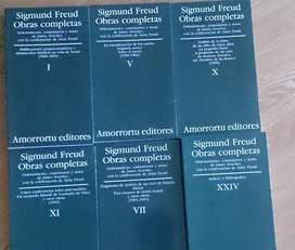 Libros Sigmund Freud Obras Completas Amorrortu