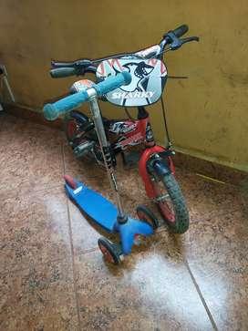 Bicicleta monark más squater