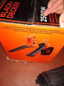 Sopladora aspiradora trituradora