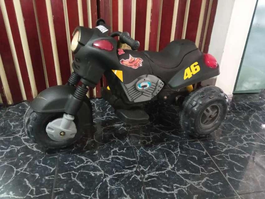Moto electrica recargable con o sin bateria