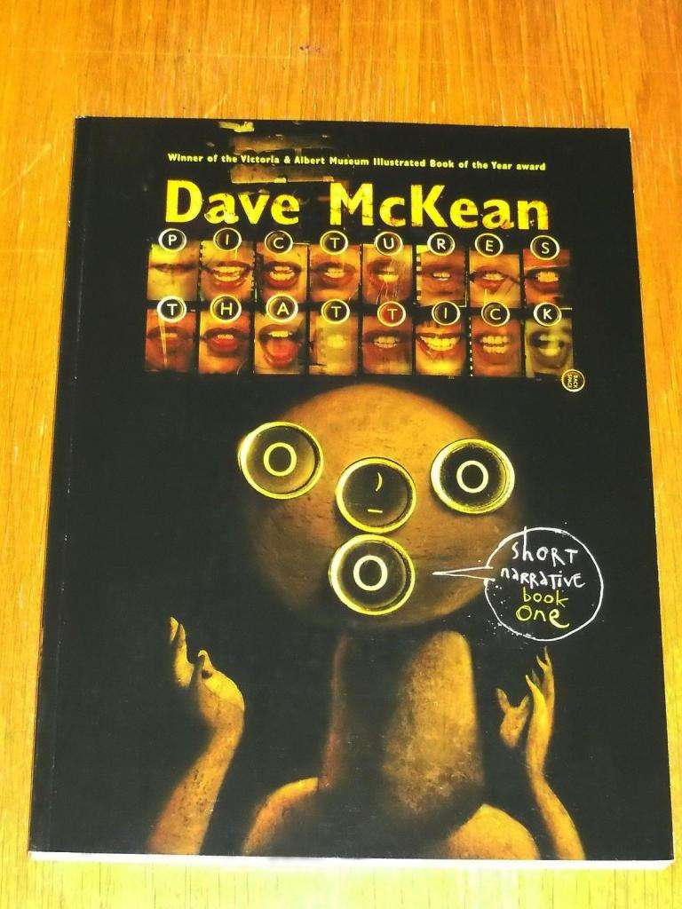 DAVE MCKEAN PICTURES THAT TICK 0