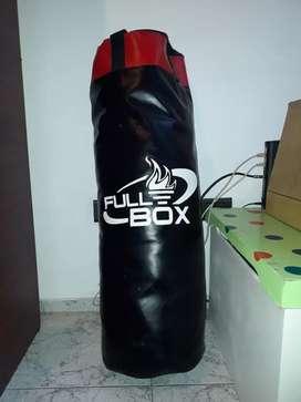 bolsa de boxeo completa soporte guantes y vendas