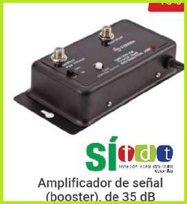 amplificador de señal tv tdt uhf