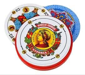 Naipes Fournier Redondos Españoles Circulares Fournier 250