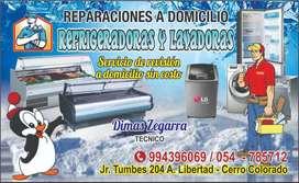 REPARACIÓN TÉCNICO EN REFRIGERADORAS, VITRINAS REFRIGERADAS