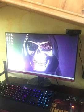 "Vendo monitor AOC 25"" de 75 Hz"