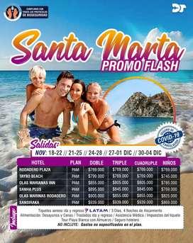 Viaja a Santa Marta en Noviembre