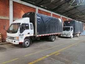 Vendo jac modelo 2012 cabina y media