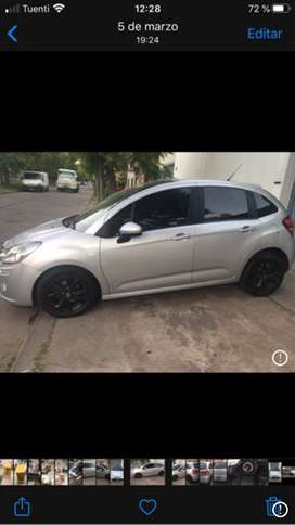 Citroen c3 2013 tendence pack  , segundo dueño 81 mil km impecable estado