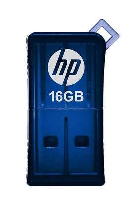 Memoria Hp Flash Drive Usb V165w 32gb 32 Gb Azul Pen Drive