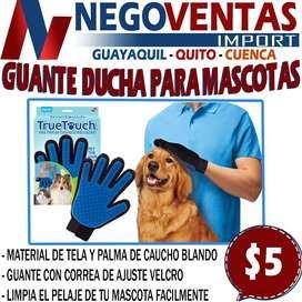 GUANTE QUITA PELUSA PARA MASCOTAS EN DESCUENTO EXCLUSIVO DE NEGOVENTAS