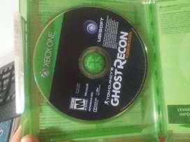 Chostrecon juego de Xbox one