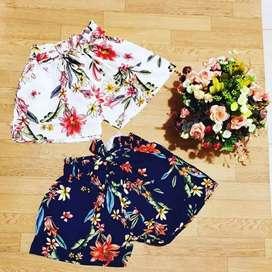 Shorts para dama