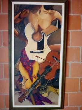 Pintura Abstracta de Mujer