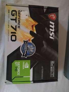 Tarjeta de vídeo GeForce GT 710