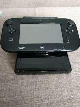 Nintendo Wii U Premium Consola Completa Retrocompatible + Seis Juegos