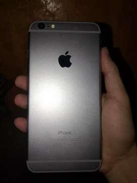 Vendo iphone 6 plus de 16gb solo cel  cero detalles bateria al 100%