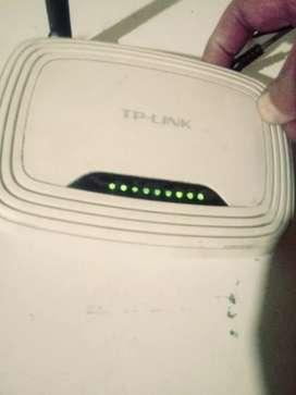 Router tp link funcionando
