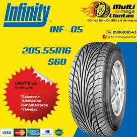 Llantas 205.55r16 infinity inf05