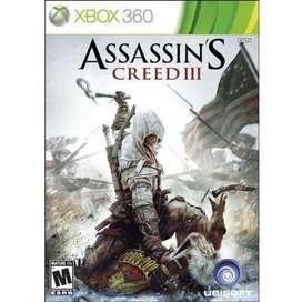 Assassin's Creed III 3 Para Xbox 360 y Xbox One Original Físico