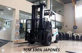 Montacargas TCM 3 TON Japonés - Diésel