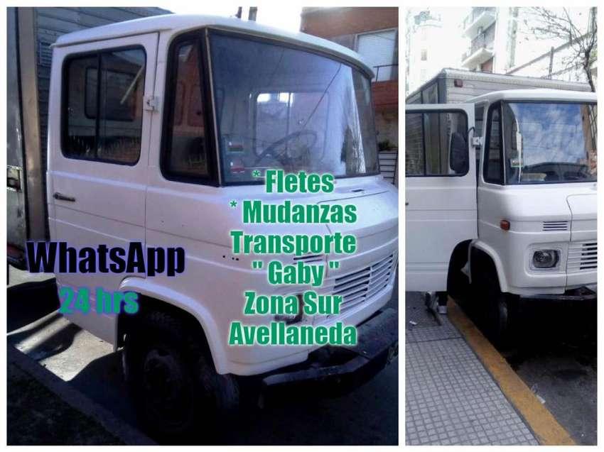 FLETES MUDANZAS TRANSPORTE CAMIONES ZONA SUR AVELLANEDA ECONÓMICOS 0