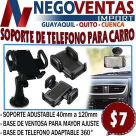 SOPORTE DE TELEFONO PARA CARRO EN DESCUENTO EXCLUSIVO DE NEGOVENTADS