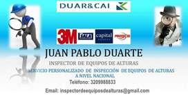 SERVICIO DE MANTENIMIENTO E INSPECCIÓN DE EQUIPOS DE ALTURAS