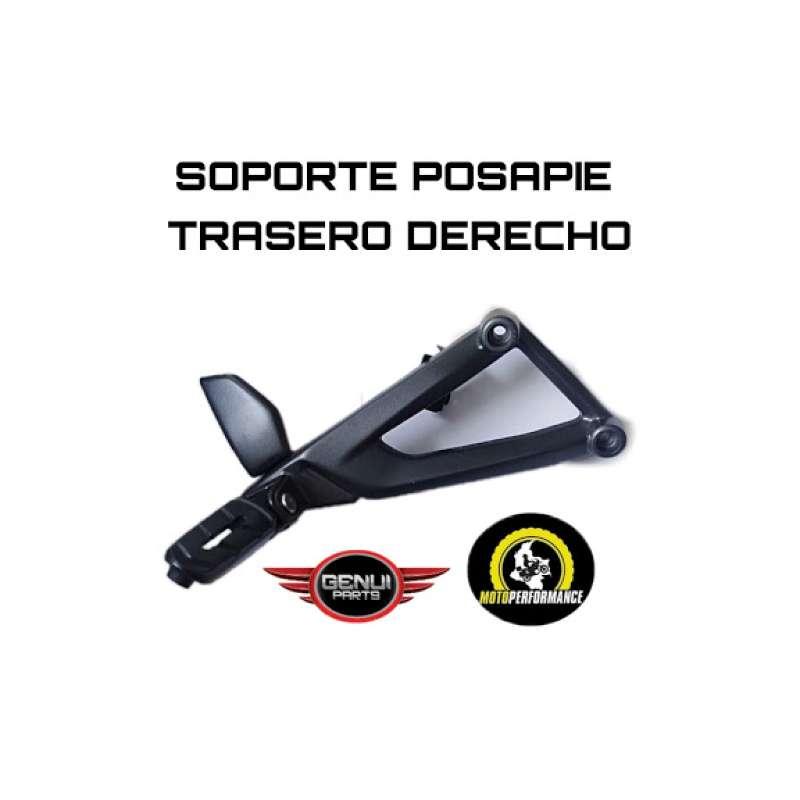 soporte Posapie tras der NS 200 0