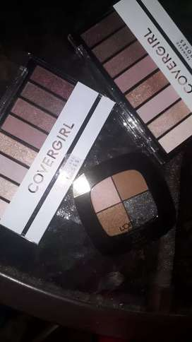 sombras cover girl y loreal