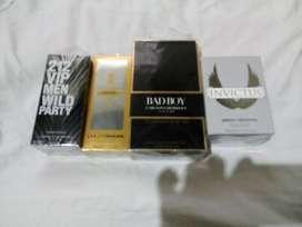 4 perfumes nuevos