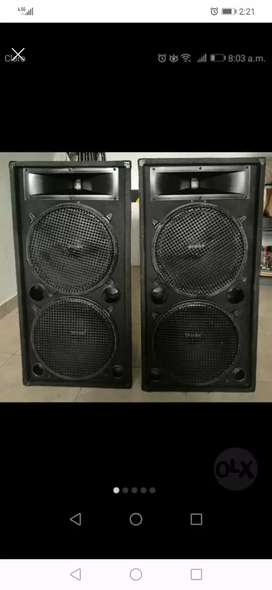 """Vendo  cabinas de sonido 300watt de 15"""""""