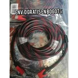 CABLE ENMALLADO HDMI 10 METROS