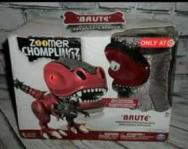 Dinosaurio con baterías