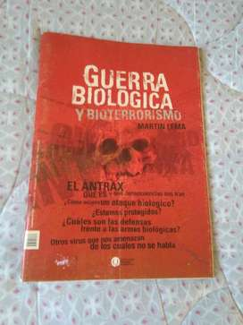 Guerra Biológica Y Bioterrorismo . Martín Lema . UNQUI