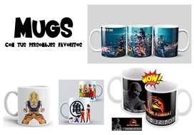Mugs personalizados animé manga marvel