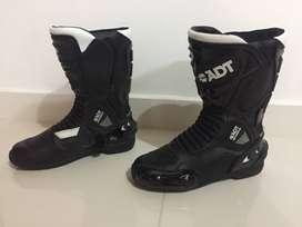 botas moto ADT mujer
