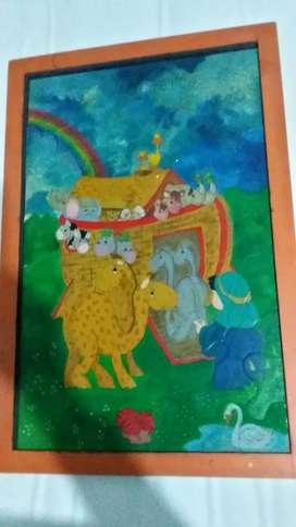 Rompecabezas del arca de Noe 62cm x 39cm