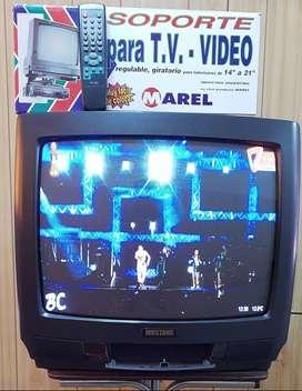 """TV 20"""" Mustang Excelente Estado c/Soporte"""