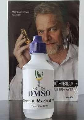 Andreas Kalcker DMSO (Dimetilsulfóxido) 60ml al 70% y otros DC