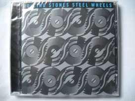 the rolling stones steel wheels cd sellado