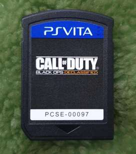Call Of Duty PSVita Black Ops Declassified