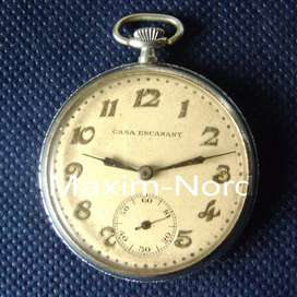 Reloj Bolsillo 1935 Troy Watch Co. Funcionando / Maxim Nord