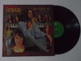 Carole King ¿ Her Greatest Hits. Lp. Vinilo