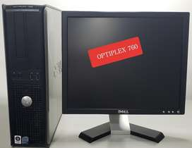 Cpu Optiplex760 Oferta Solo por Este Mes