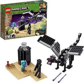 Lego Minecraft 21151 La Batalla Final 222 Piezas